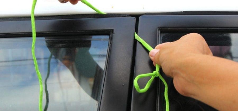 Захлопнулась дверь автомобиля, что делать?