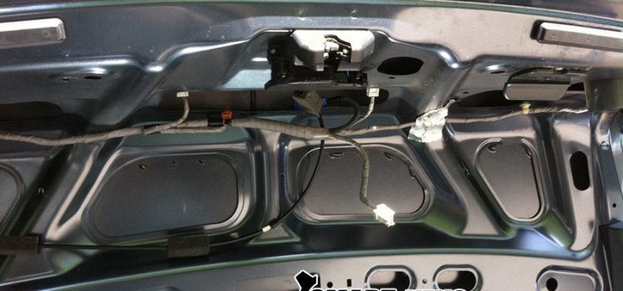 Ремонт замка багажника Honda Accord 2004