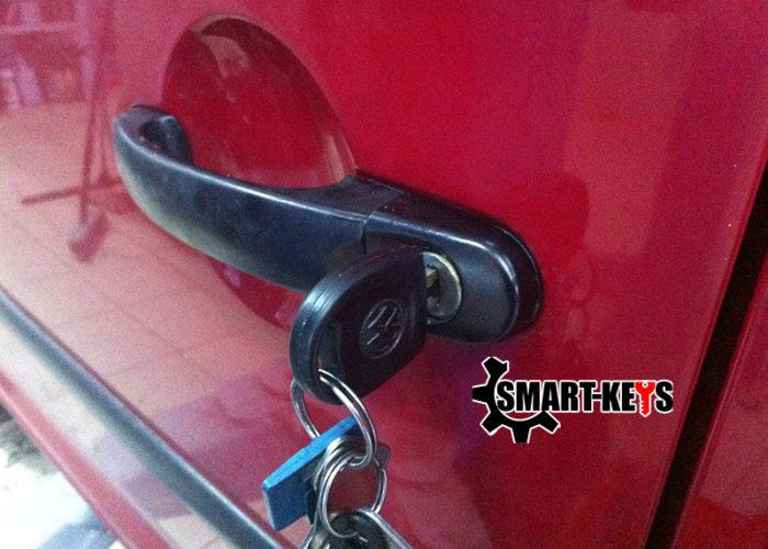 дверной замок с ключом Volkswagen Caddy
