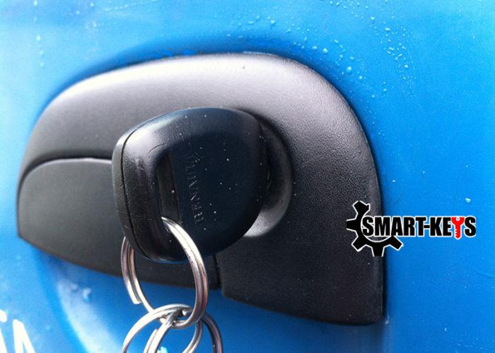 ремонт замка двери Renault Kangoo