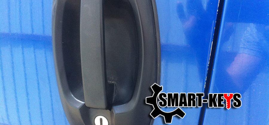 Ремонт замка двери Peugeot Boxer
