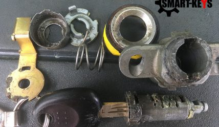 Хендай Купе ремонт замка багажника